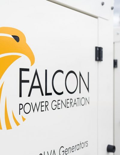 Falcon generator industrial Photography