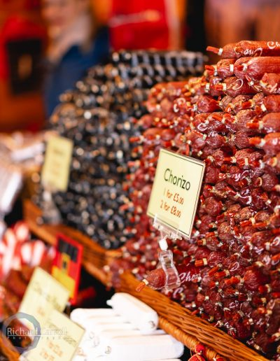 Manchester Markets 2018-2 cured meats chorizo european cooking