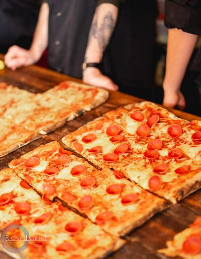 Manchester Markets 2018-6 pizza hunger pepperoni slice treat cheese